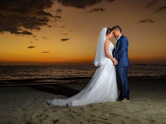 El matrimonio de Luciana  y Mauricio