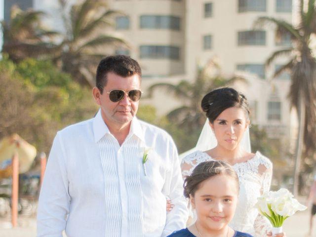 El matrimonio de Sebastián y Laura en Cartagena, Bolívar 15