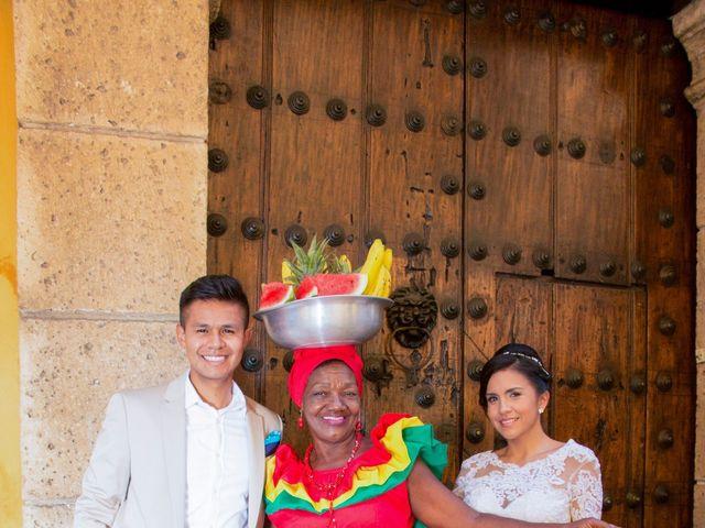 El matrimonio de Sebastián y Laura en Cartagena, Bolívar 78
