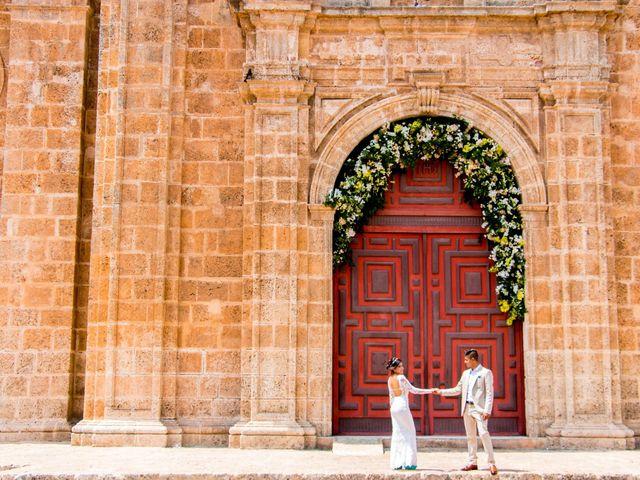 El matrimonio de Sebastián y Laura en Cartagena, Bolívar 83