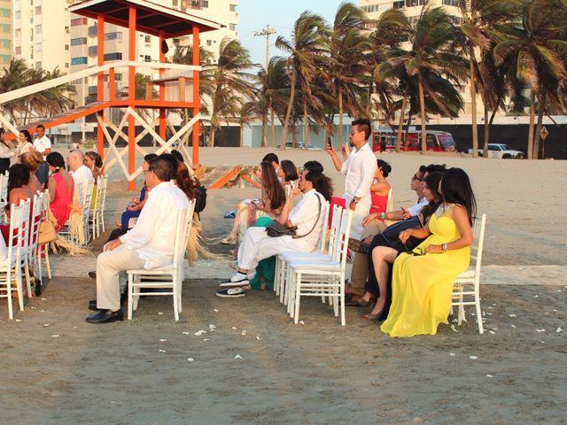 El matrimonio de Sebastián y Laura en Cartagena, Bolívar 32