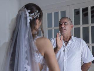 El matrimonio de Edison y Vanesa 2