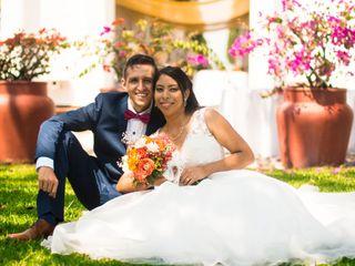 El matrimonio de Yeniffer Mercado  y Carlos Navarro