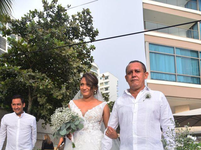 El matrimonio de Juan pablo y Leydis en Cartagena, Bolívar 18