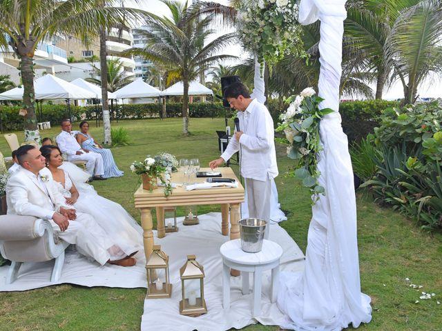El matrimonio de Juan pablo y Leydis en Cartagena, Bolívar 20