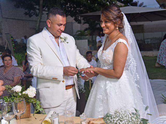 El matrimonio de Juan pablo y Leydis en Cartagena, Bolívar 24