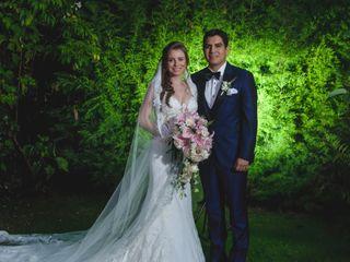 El matrimonio de Enrique y Karina