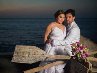 El matrimonio de Natalia  y Diego
