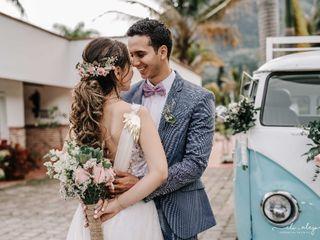 El matrimonio de Zaret y Camilo
