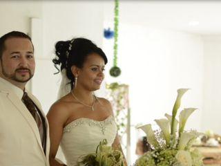 El matrimonio de Christian  y Biviana