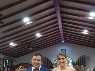 El matrimonio de Javier y Sylvana 1