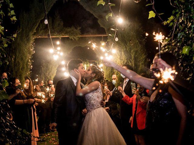 El matrimonio de Alexandra y Nicolás