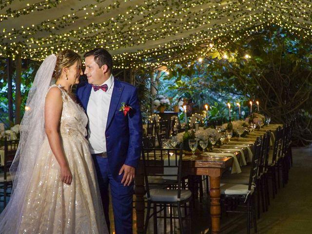 El matrimonio de Javier y Sylvana