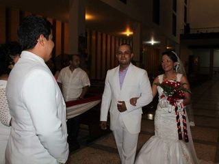 El matrimonio de Andrea y Gustavo 2