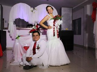El matrimonio de Andrea y Gustavo