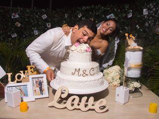 El matrimonio de Carmen y Moisés