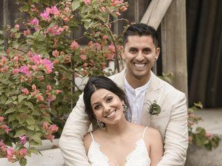 El matrimonio de Eliana y David