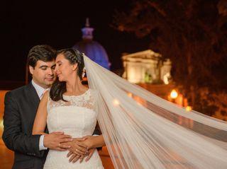 El matrimonio de Cristina y Francisco