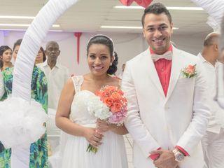 El matrimonio de Elieth y Lerme