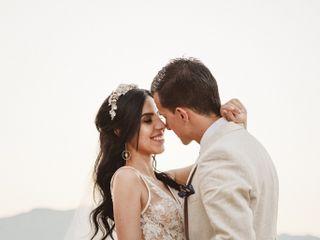 El matrimonio de Mónica y Andres
