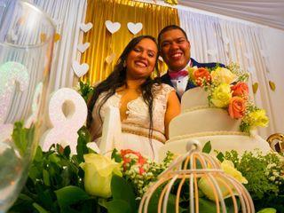 El matrimonio de Angie y Carlos