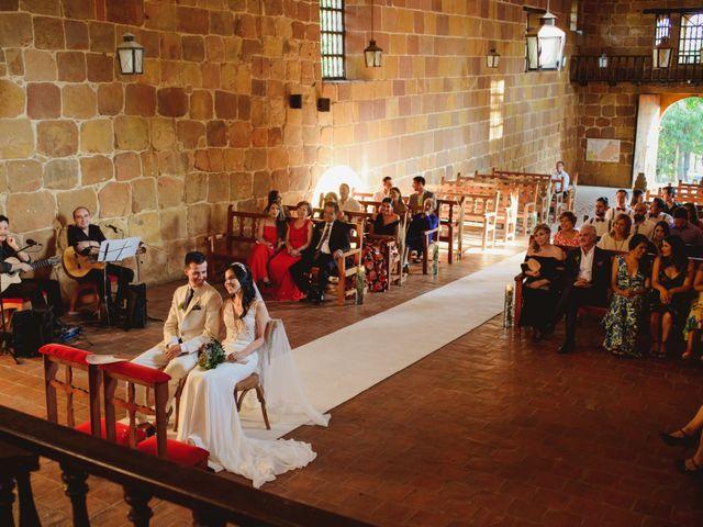 El matrimonio de Andres y Mónica en Barichara, Santander 17
