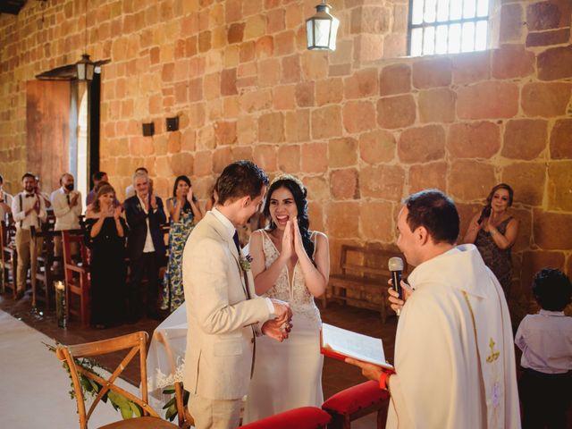 El matrimonio de Andres y Mónica en Barichara, Santander 19