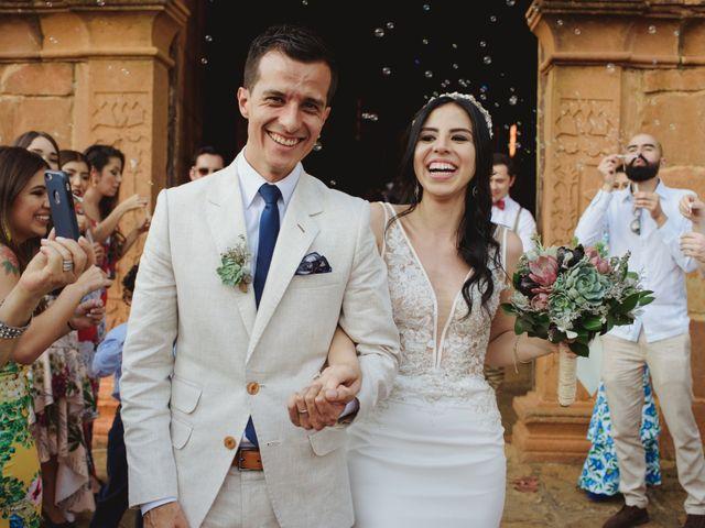 El matrimonio de Andres y Mónica en Barichara, Santander 20
