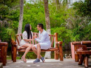 El matrimonio de Aura Carolina  y Jhon Jairo  1