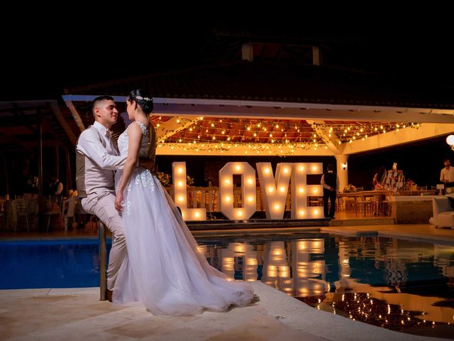El matrimonio de Aura Carolina  y Jhon Jairo