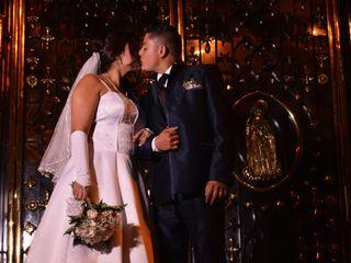 El matrimonio de Sandra y Cristian