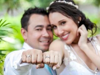 El matrimonio de Daniela y Franklin