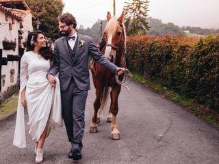 El matrimonio de Isabel y Marco