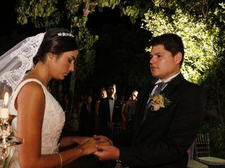 El matrimonio de María Clara y Julian