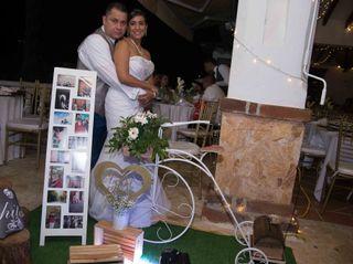 El matrimonio de Mónica  y Luis