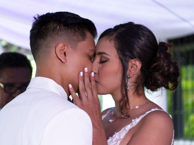 El matrimonio de Johan y Vane