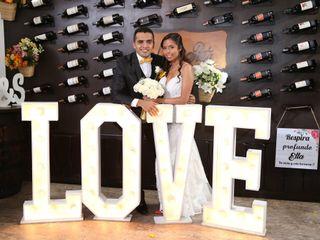 El matrimonio de Xiomara y Saul