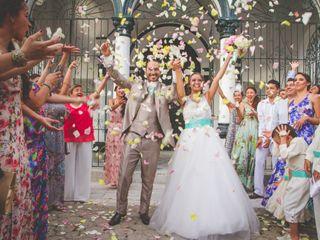 El matrimonio de Aleja y Jorge