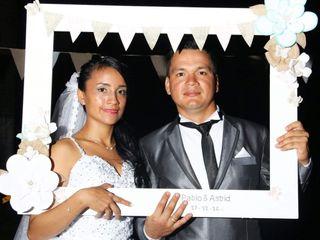 El matrimonio de Astrid y Pablo