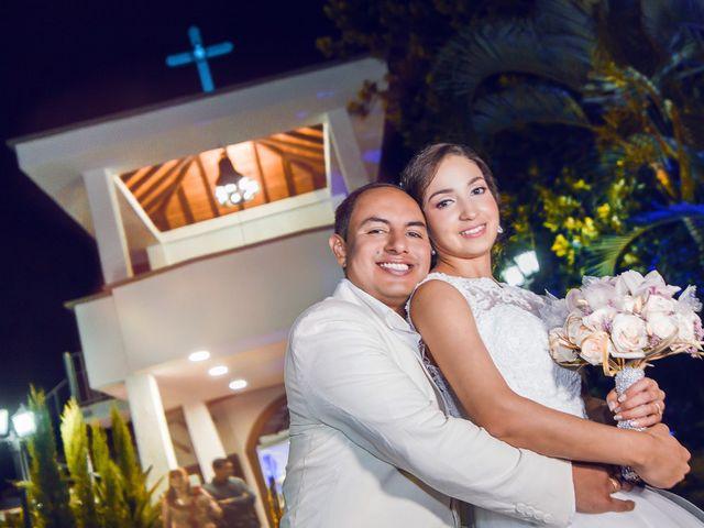 El matrimonio de Estefania y Diego
