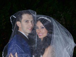 El matrimonio de Vanessa y Richard