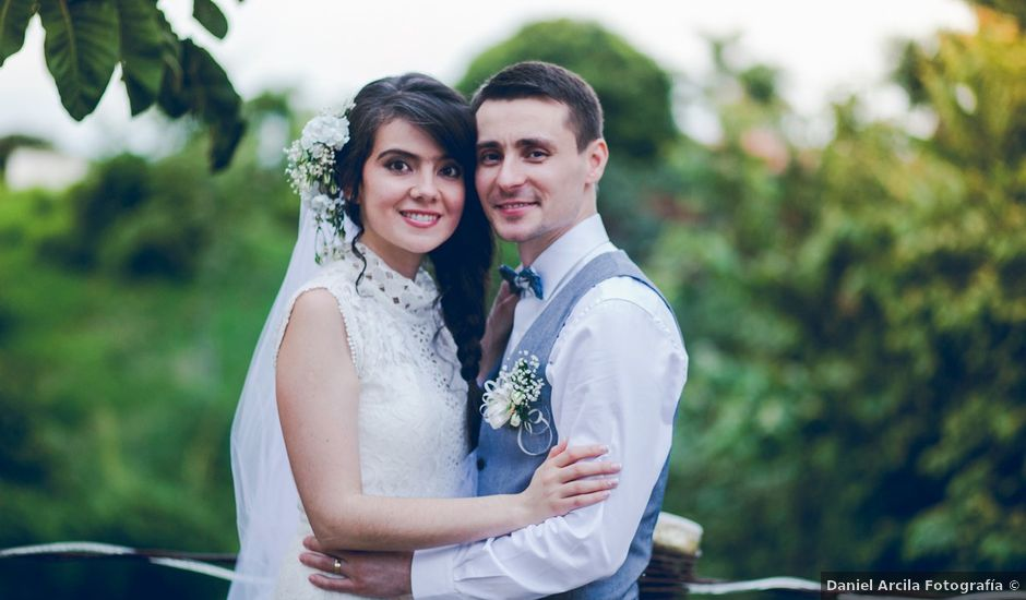 El matrimonio de Veaceslav y Tamara en Pereira, Risaralda
