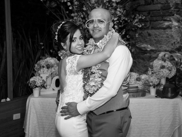 El matrimonio de Sergio y Martha