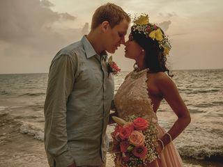 El matrimonio de Olivier y Sandra