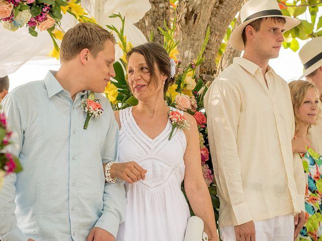 El matrimonio de Sandra y Olivier en Cartagena, Bolívar 17