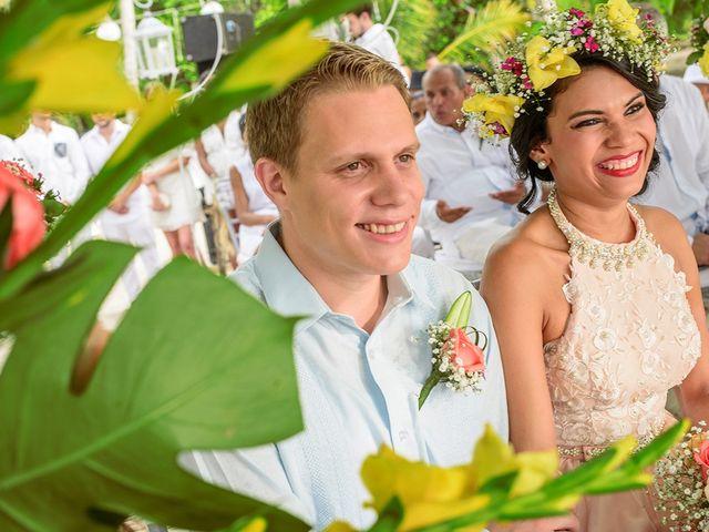 El matrimonio de Sandra y Olivier en Cartagena, Bolívar 21