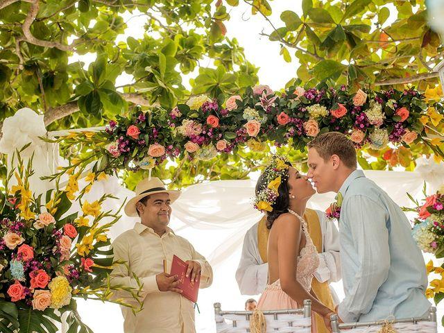 El matrimonio de Sandra y Olivier en Cartagena, Bolívar 24