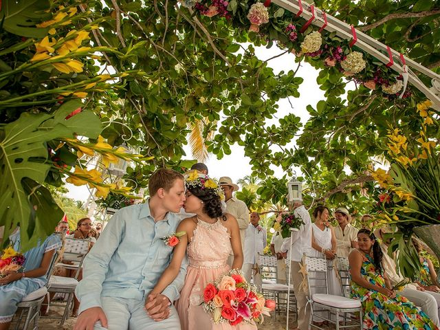 El matrimonio de Sandra y Olivier en Cartagena, Bolívar 28