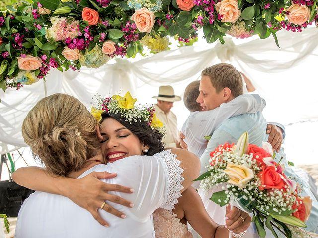 El matrimonio de Sandra y Olivier en Cartagena, Bolívar 29
