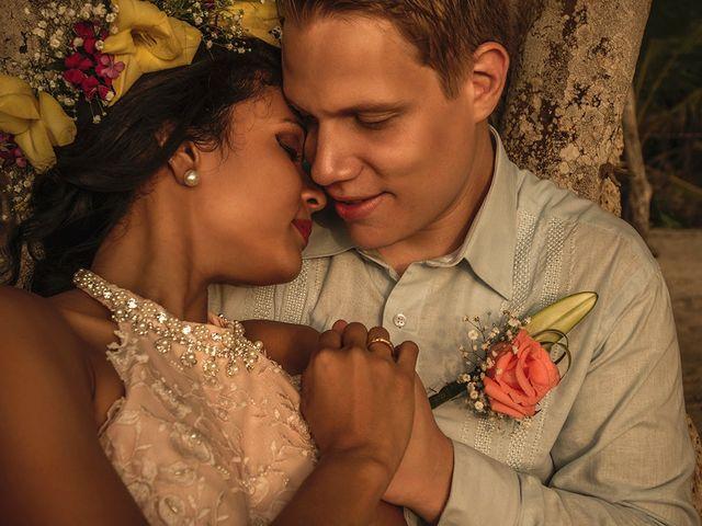 El matrimonio de Sandra y Olivier en Cartagena, Bolívar 1